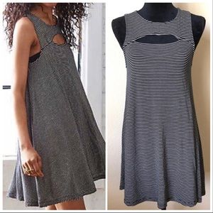 American Eagle Soft & Sexy Striped Swing Dress